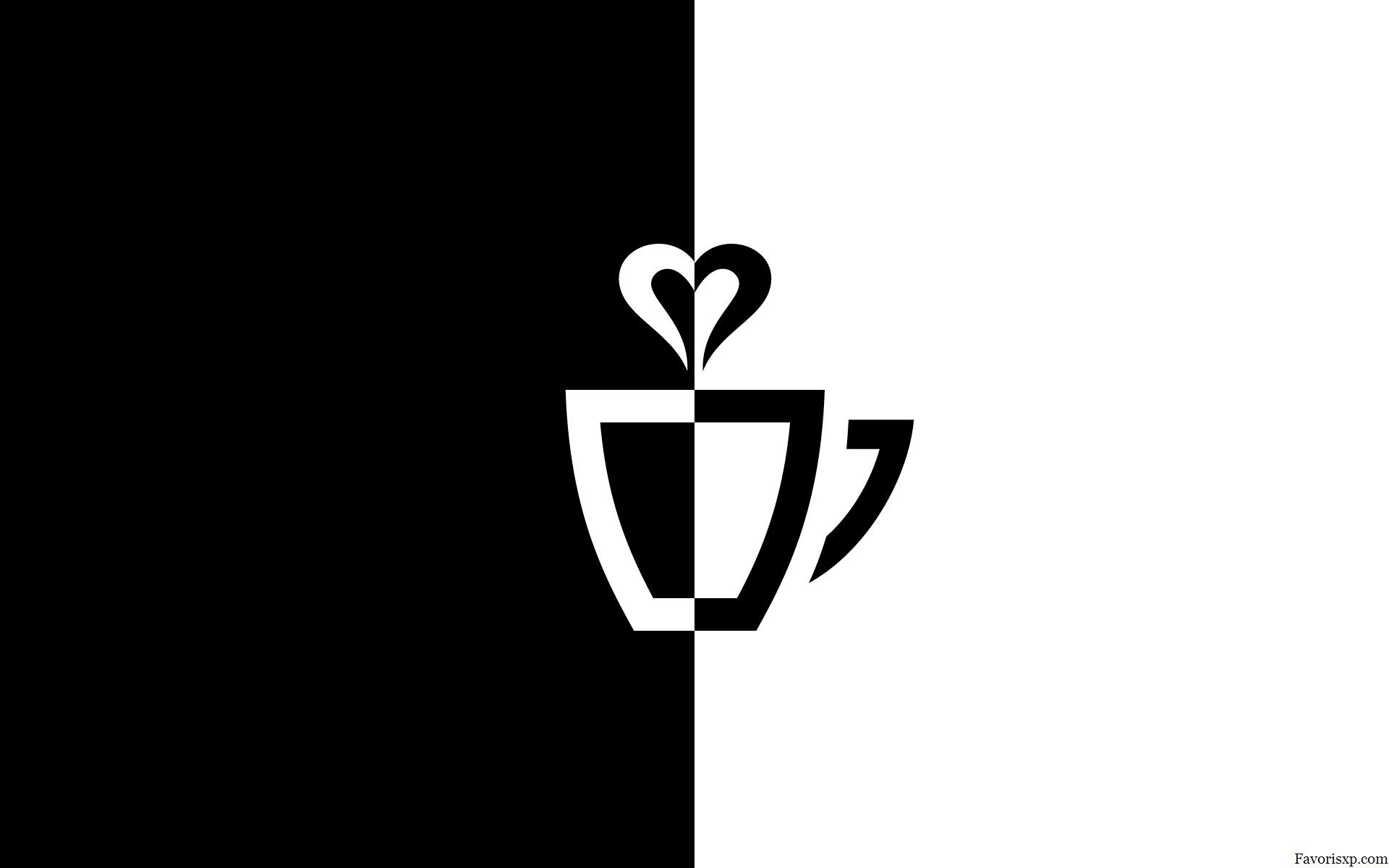 Fonds d 39 cran logo noir et blanc images n b - Tapisserie rayee noir et blanc ...