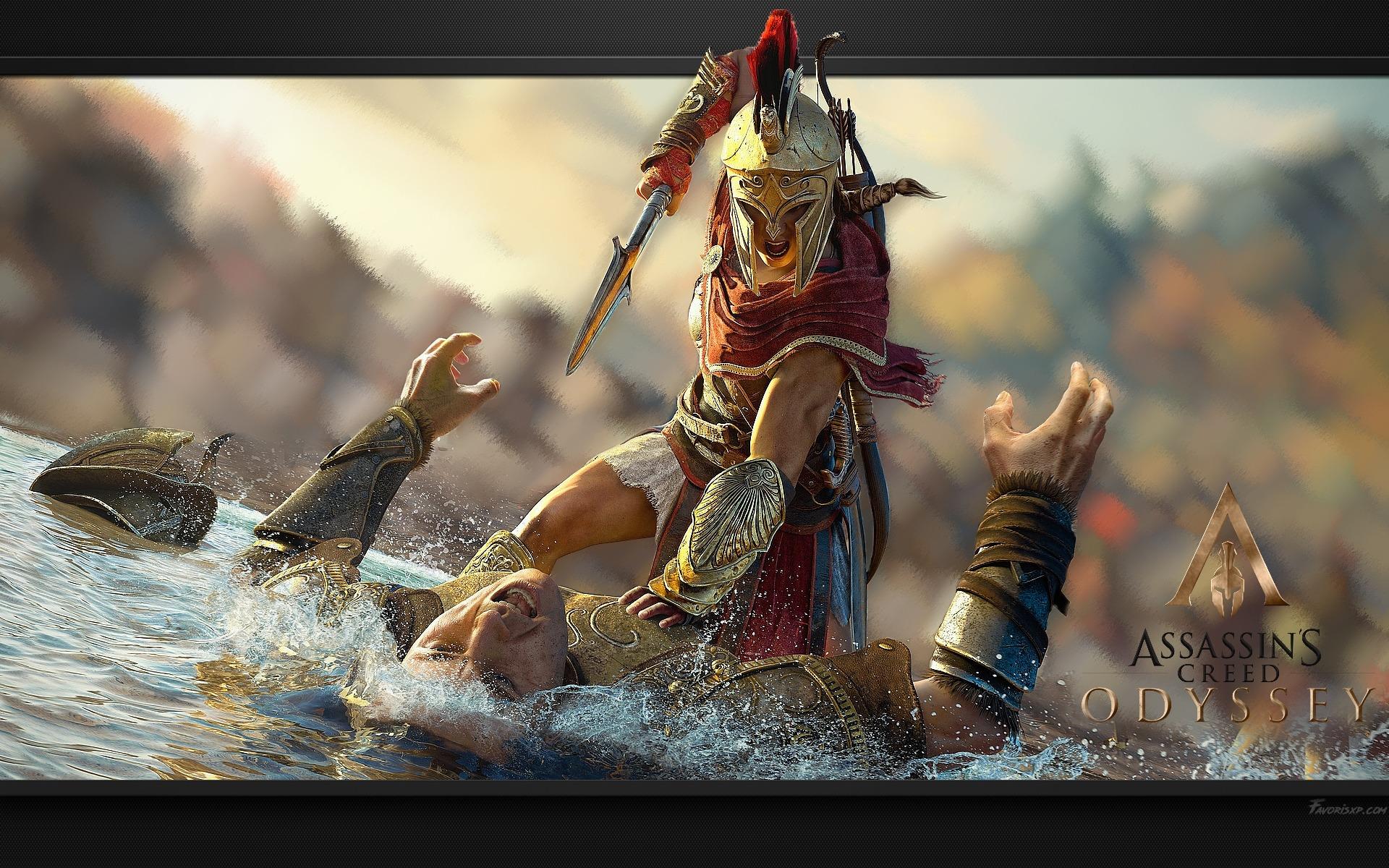 Ac Assassin S Creed Fonds D Ecran Odyssey Image Arriere Plan