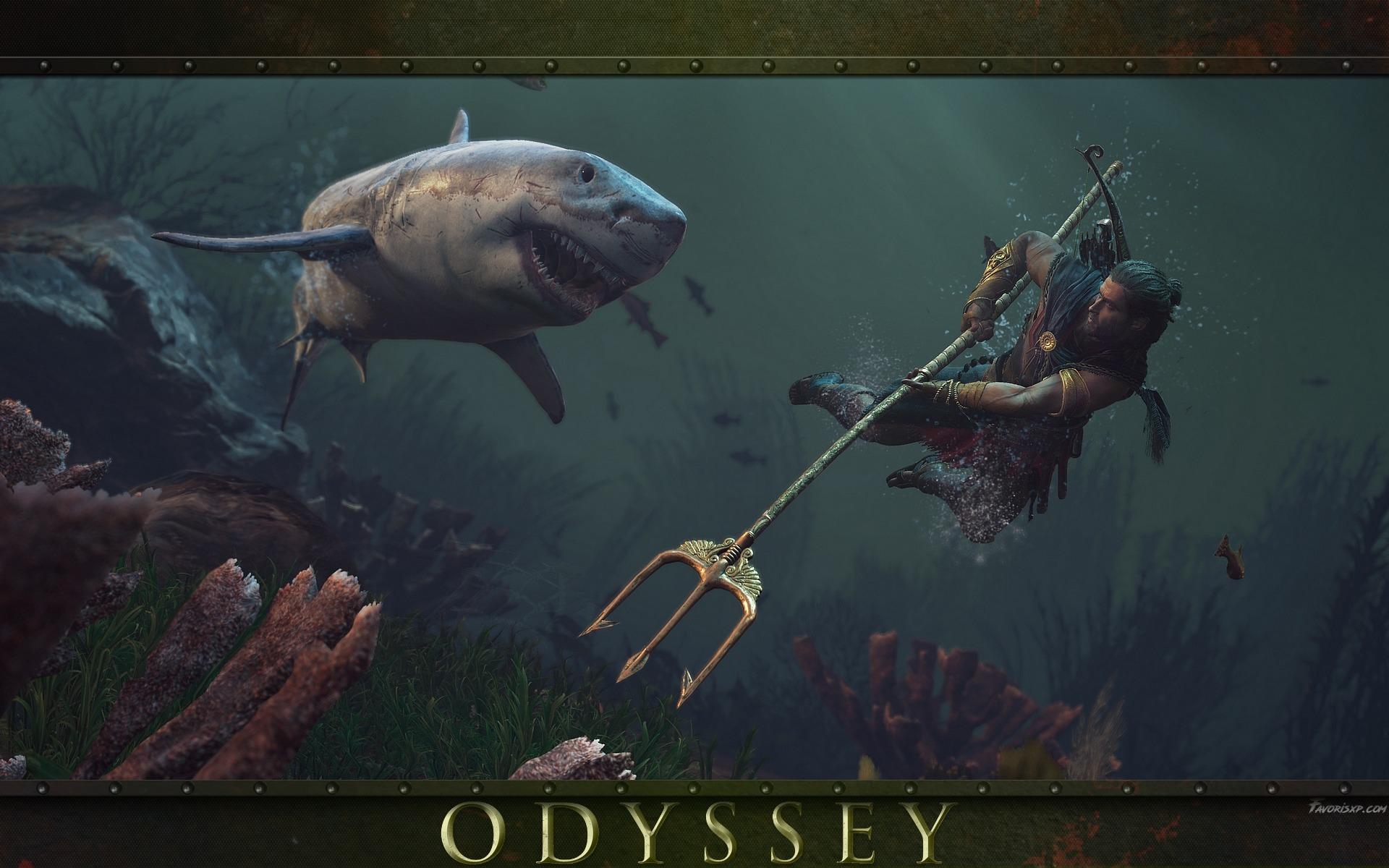 Ac Assassin S Creed Fonds D écran Odyssey Image Arrière