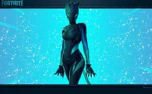 Lynx : Image Personnalisée Par FAVORISXP Du Personnage Du Jeu Vidéo Fortnite .
