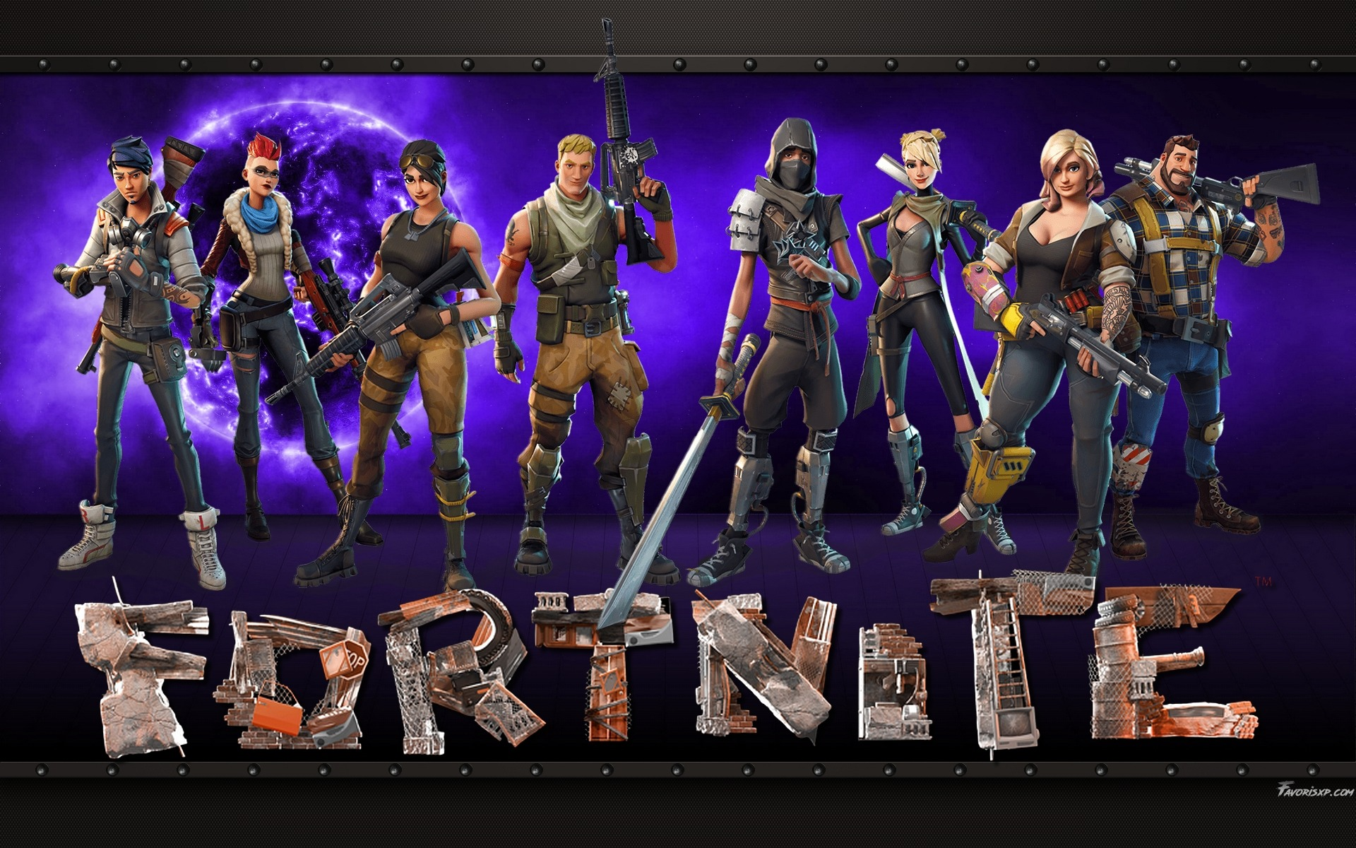 Fortnite Full Hd Wallpaper And Background Image 1920x1080 Id