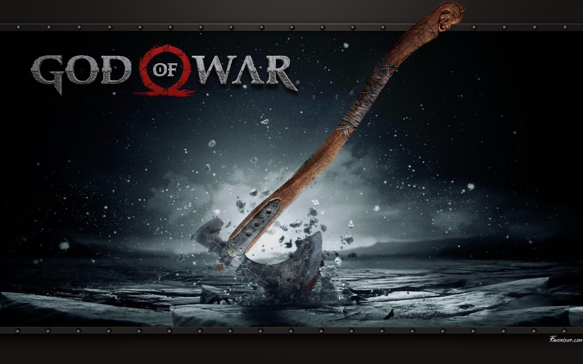 God Of War 4 Fond Décran Hd Arrière Plans Gratuits Pour Pc