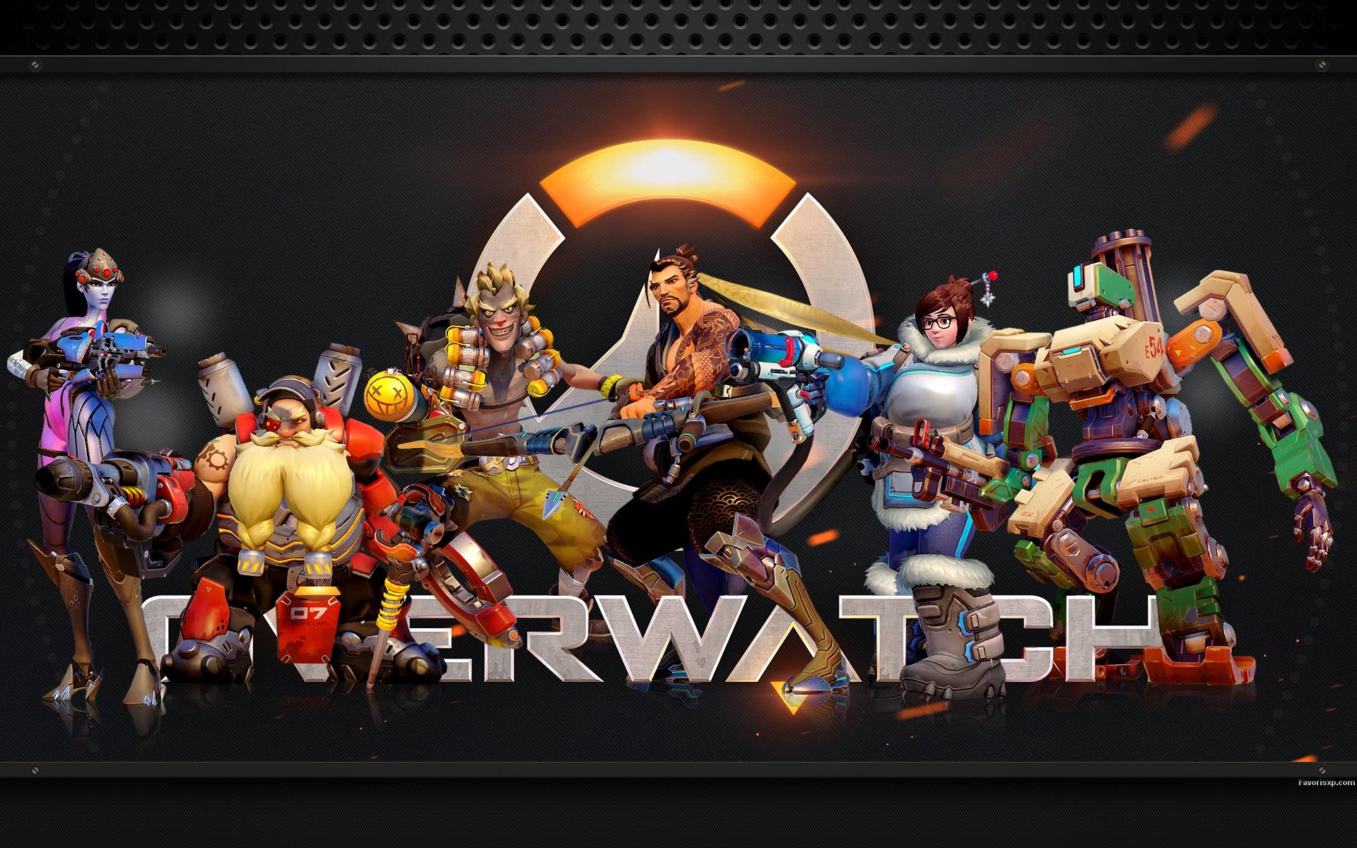 Hd wallpaper gamer - Fonds D 233 Cran H 233 Ros D Overwatch 3