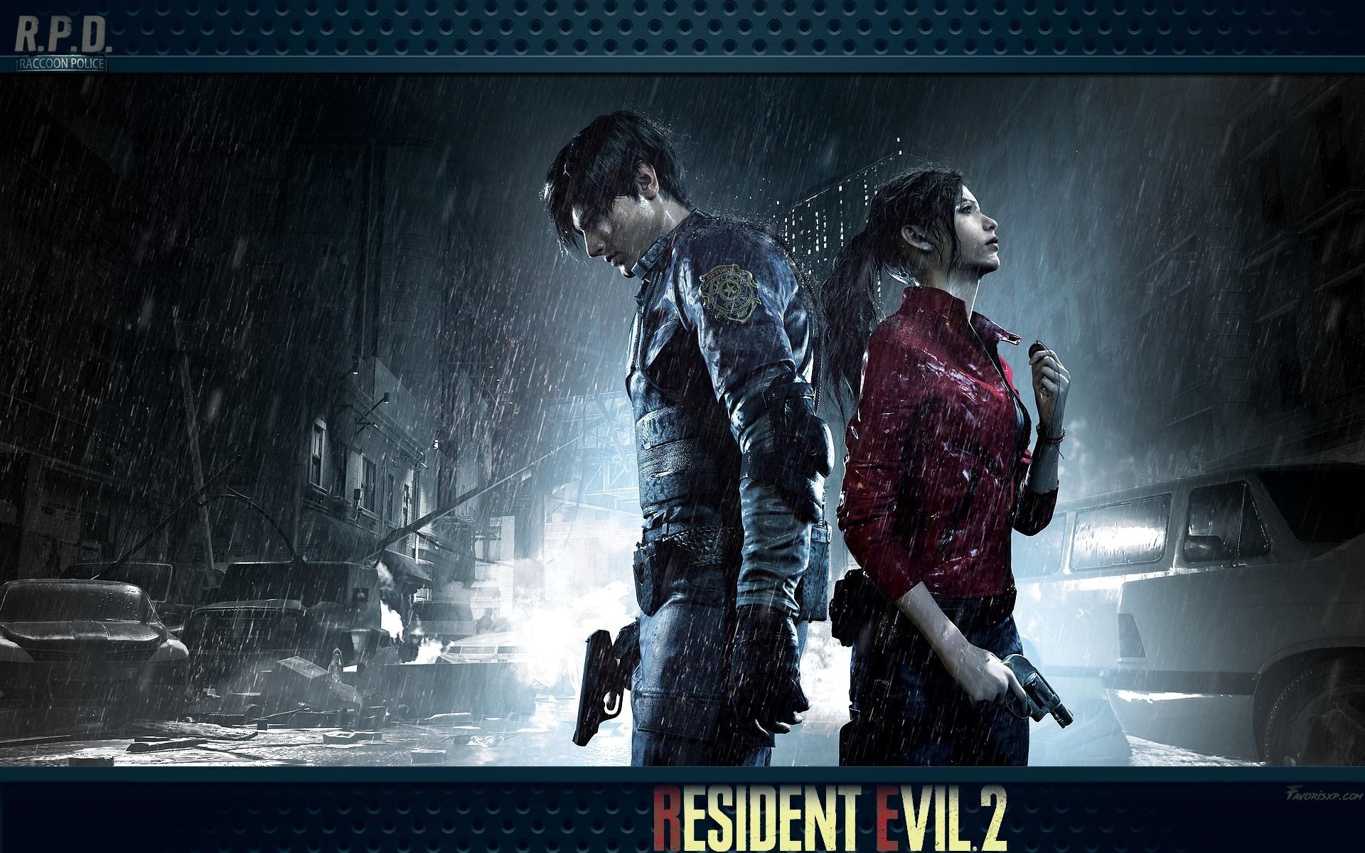 Resident Evil 2 Remake Fonds D Ecran Image Arriere Plan Wallpaper Favorisxp