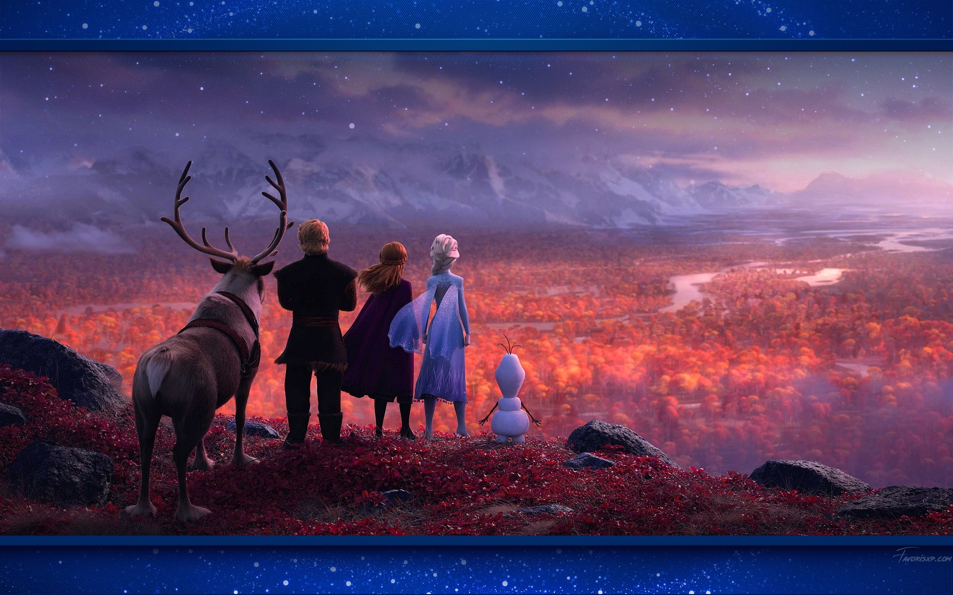 foto de Fonds d'écran de la Reine des Neiges 2 - Image Arrière-plan ...