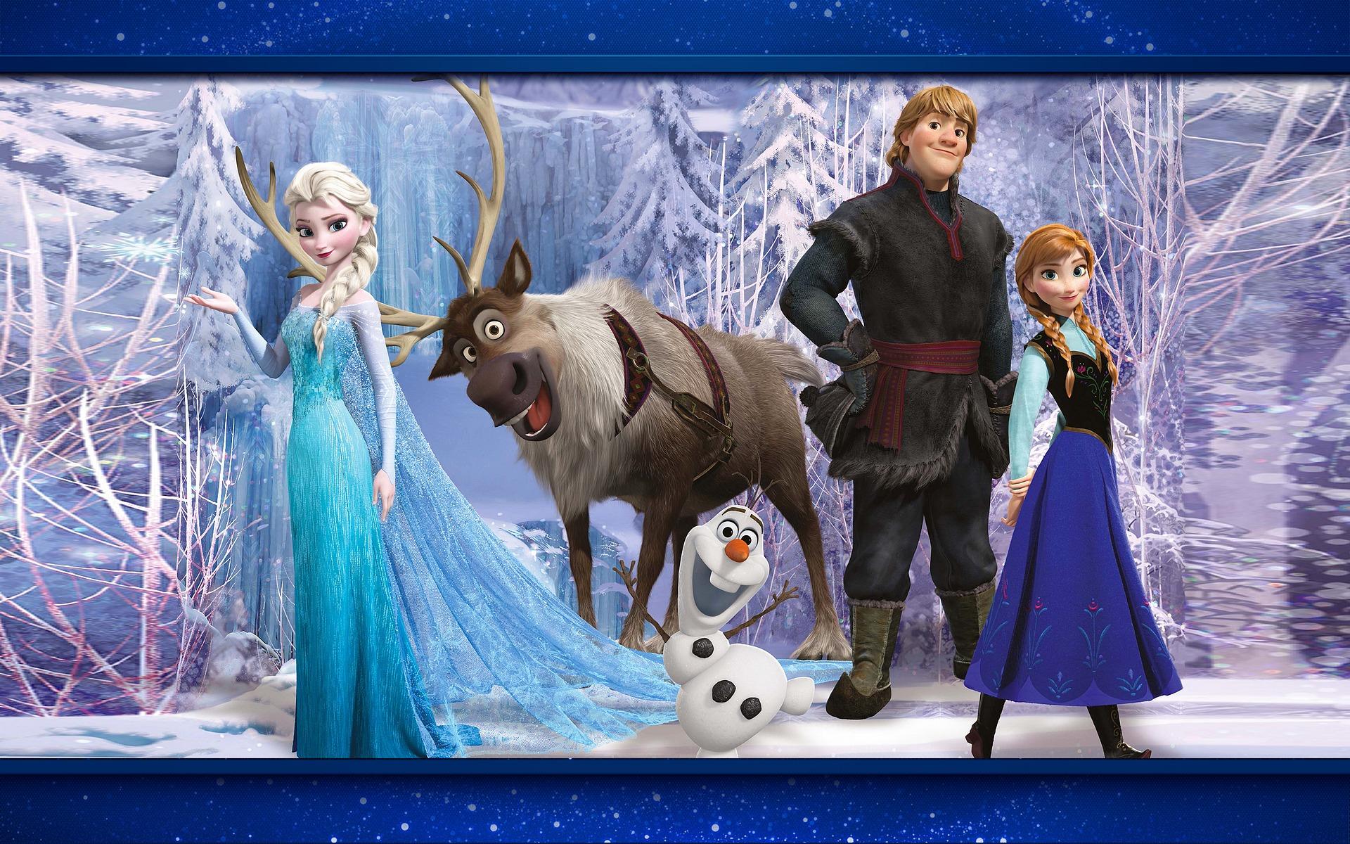 fond dcran la reine des neiges