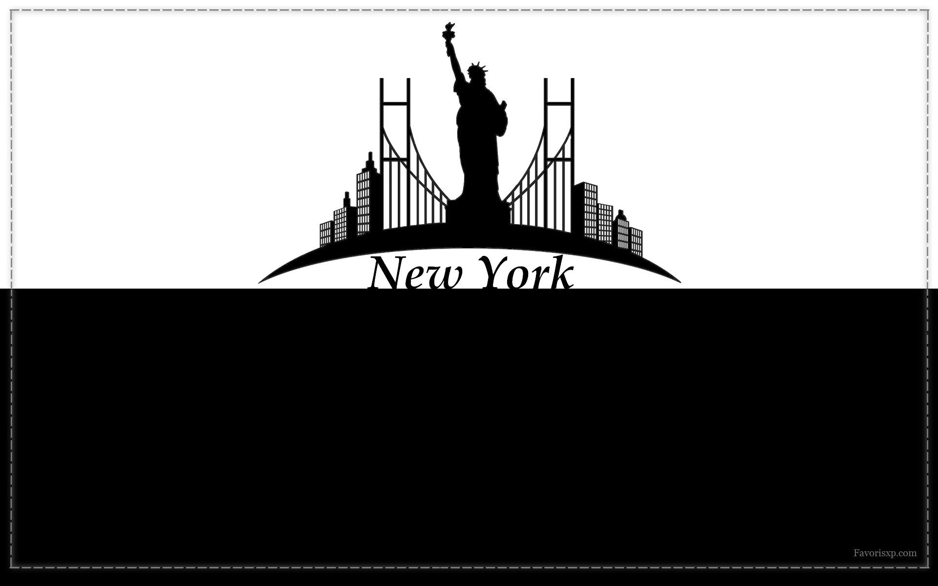 silhouettes de villes fonds d u0026 39  u00e9cran