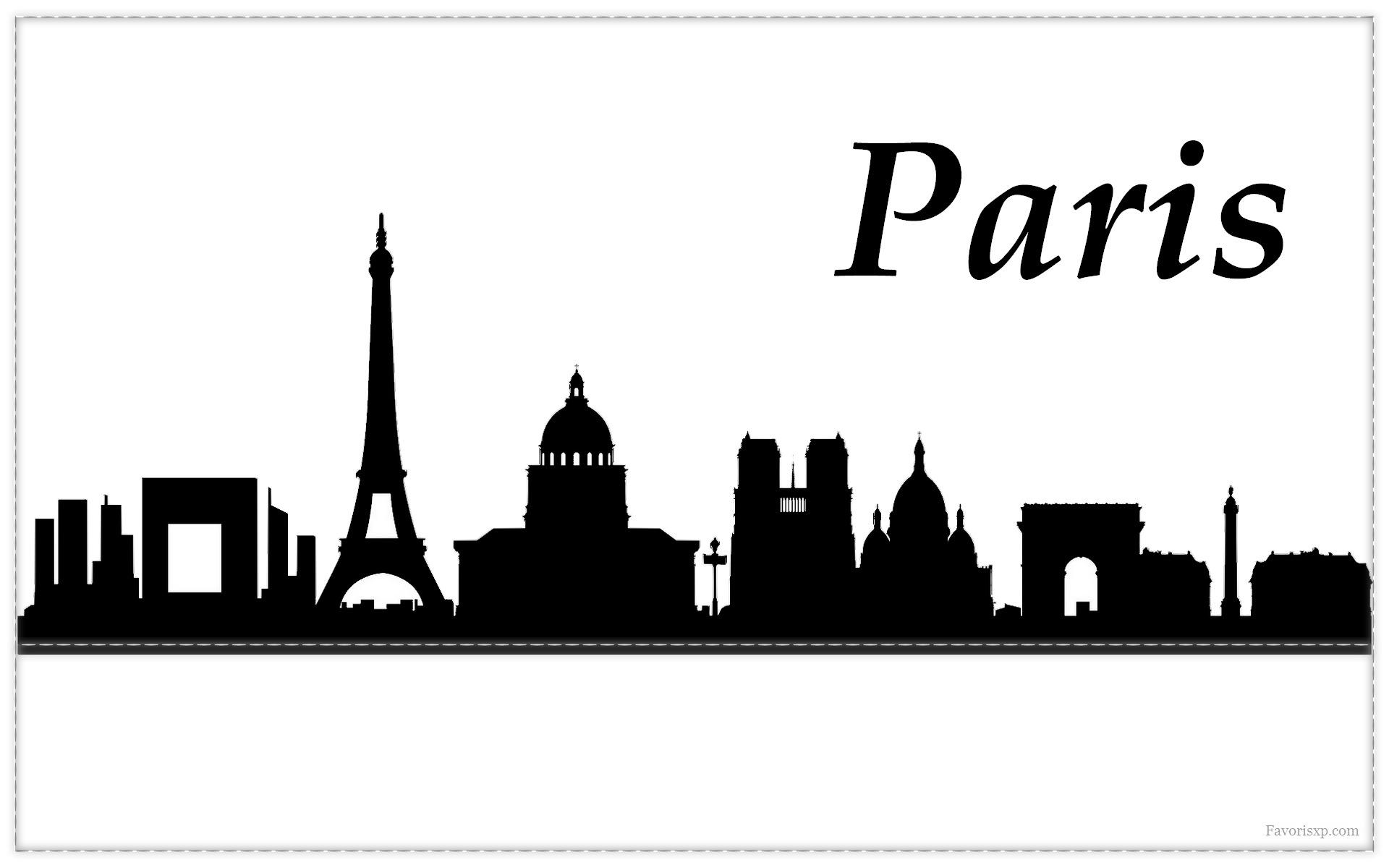 Pin montmartre noir et blancjpg on pinterest for Fond ecran paris