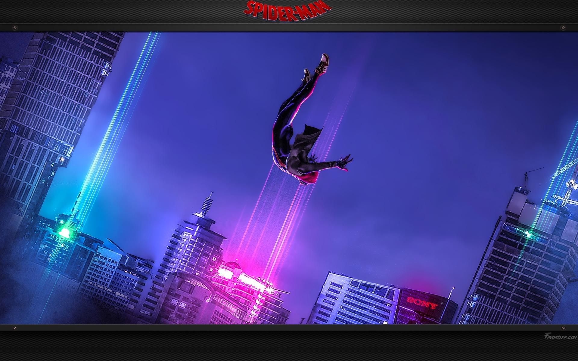 spiderman new generation fonds d'écran  image arrière