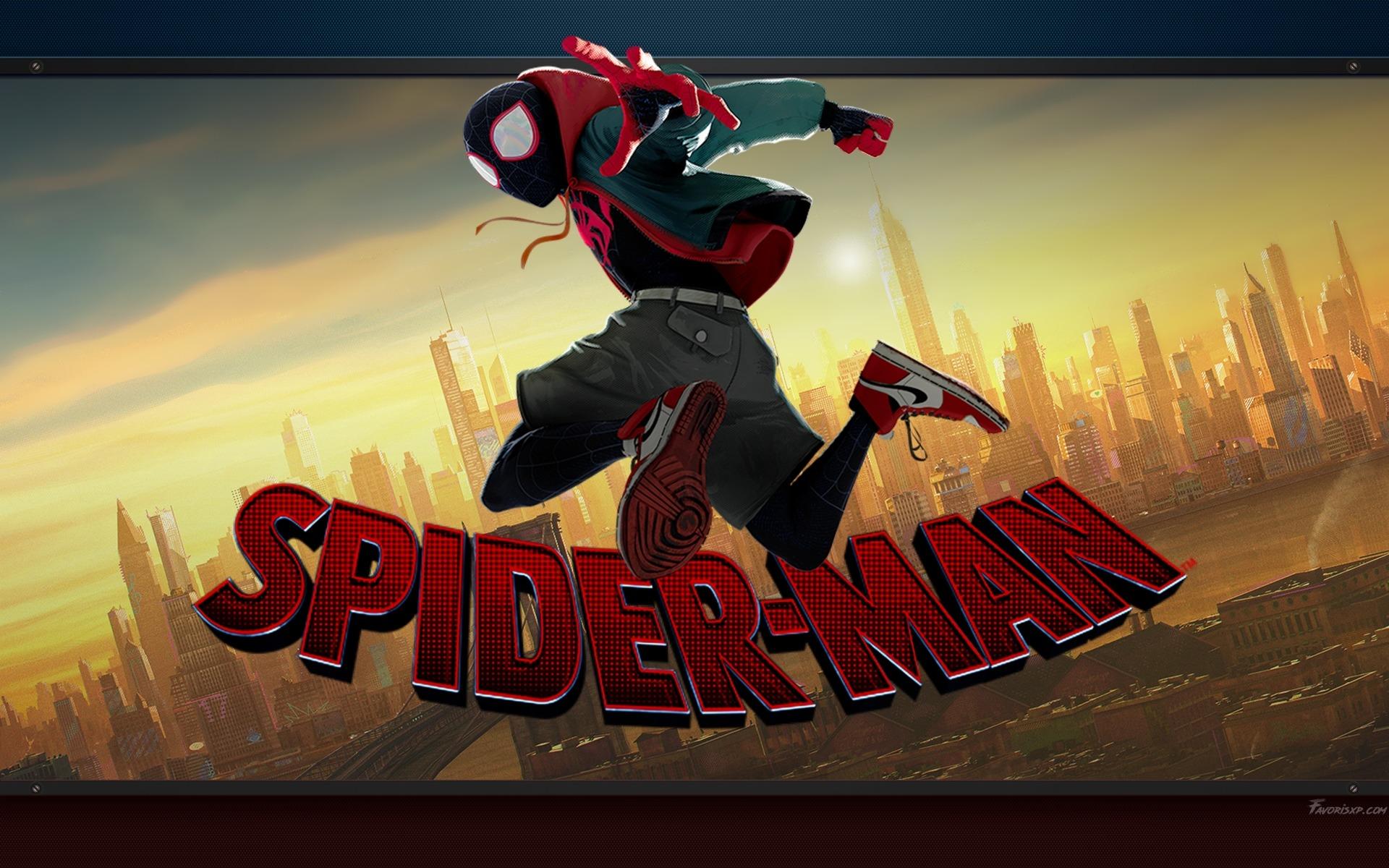 spiderman new generation fonds d'écran  wallpapers pour