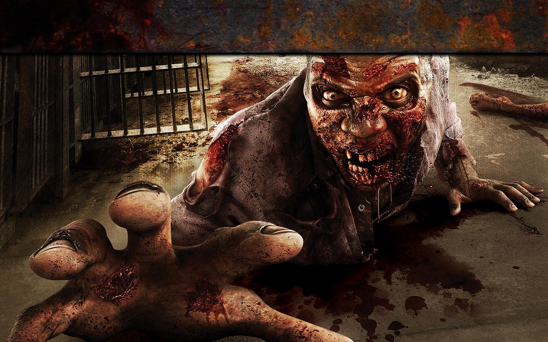 fond d'ecran zombie