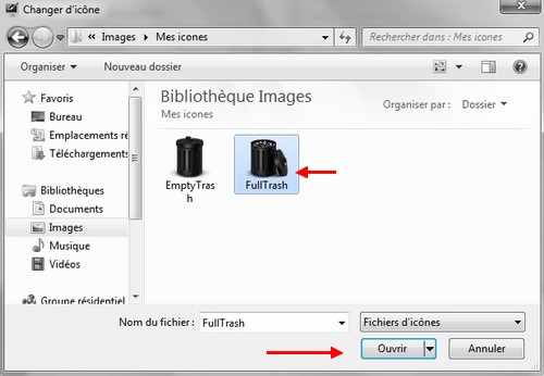 Tutoriel ic nes corbeille l 39 installation sous windows 7 for Ouvrir fenetre dos windows 7