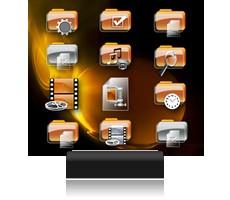 Des ic nes gratuites de bureau pour windows t l charger doctor who dexter chaises orange - Telecharger icone bureau windows 7 ...