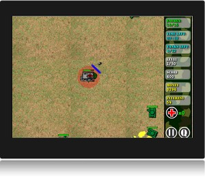 Screenshot du jeu en ligne shield defense.